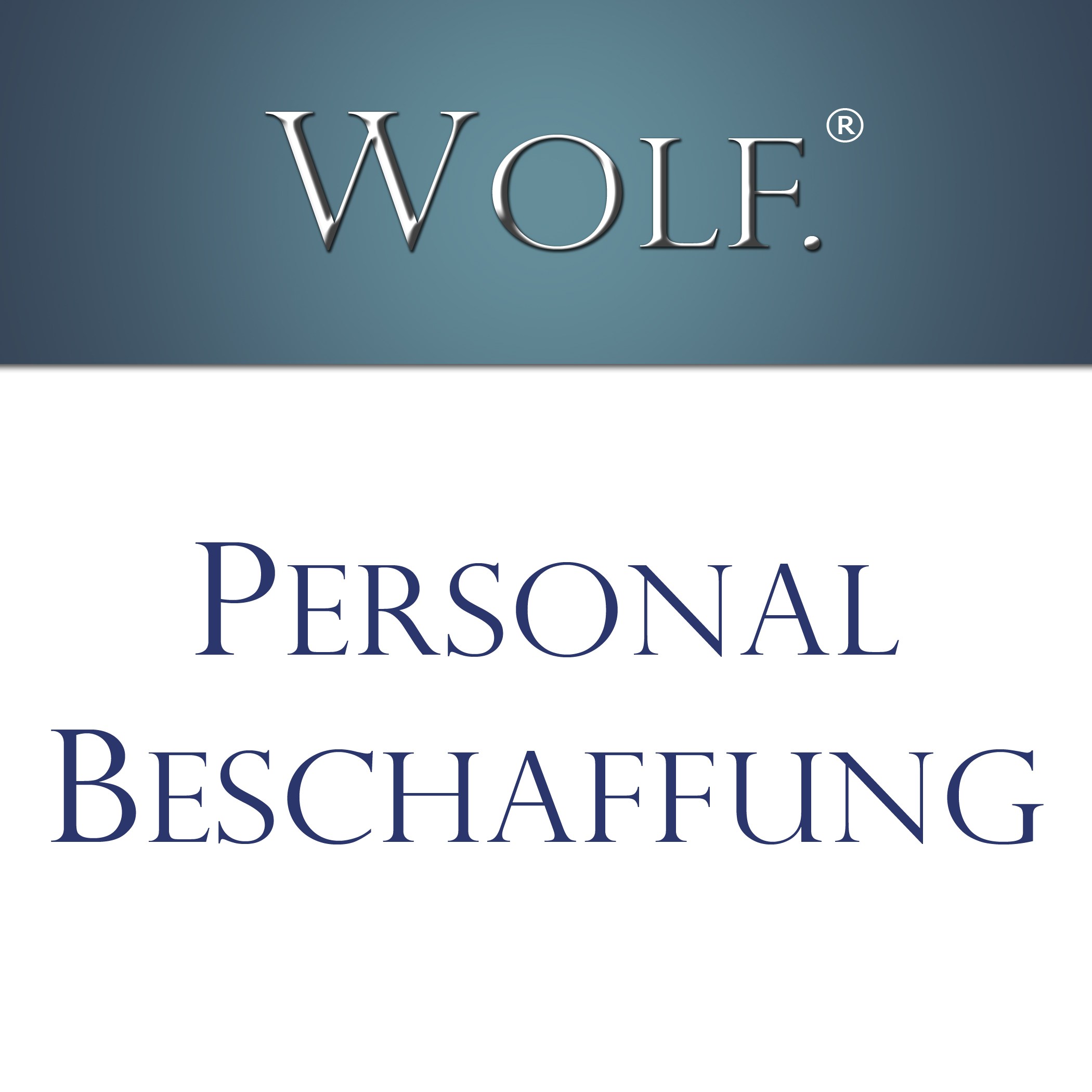 Recruiting. Personalbeschaffung.